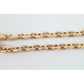 Cordão Modelo Cartier (oco) Com 20 Gramas De Ouro 18k