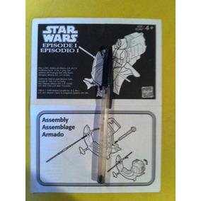 Star Wars Instrucciones Vehículo Darth Maul