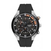 Relógio Orient Cronógrafo 100m Pulseira Silicone Mbspc029