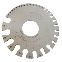 Calibrador Metal / Alambre No Ferroso 0-36 Obi