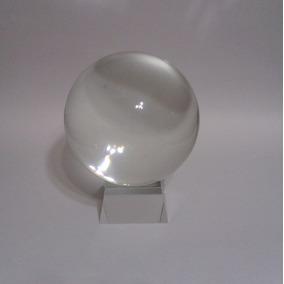 Esfera O Bola De Cristal Con Base De Cristal 45cm Circ