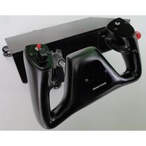 Simulador De Voo Manche Joystick Flight Simulator X-plane 10
