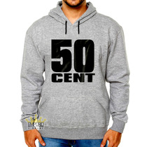 Moletom 50 Cent Rapper Blusa Blusão Rap Hip Hop