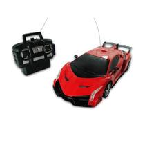 Carrinho Car Drift - Zenyell - 028277 Vermelho Controle Remo