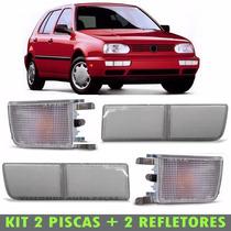 Kit Jogo Pisca Refletor Cristal Golf Mexicano Alemão 94 98