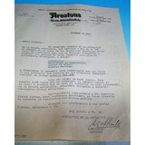 Antigua Nota Firestone De La Argentina Sociedad Anonima 1931