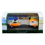 Auto Bmw Isetta 250 W Caravan Casa Rodante Metal Rdf1