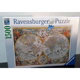 Rompecabezas Mapa Historico Ravensburger 1500pz