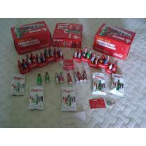 5 Mini Garrafinhas Coleção Coca Cola 2014 (5 Unidades)