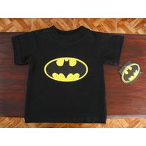 Playera De Batman Bebe Niños