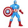 Muñeco Superhéroe Mashers Capitán América