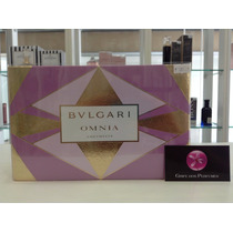 Kit Perfume Bvlgari Omnia Amethyste Edt 65ml