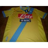 Camiseta Napoli Suplente Temporada 2013-2014 Talle M