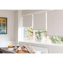 Cortinas Roller Black Out Completas 0.60 X 1.0m E-roll M610b