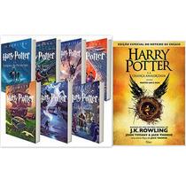 Kit Livros: Coleção Harry Potter - Saga Completa 8 Livros