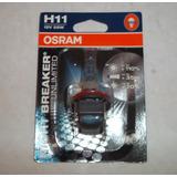 Bombillo Osram 64211 H11 12v-55w Night Break (110%+luz)