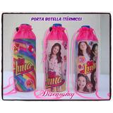 Porta Botella Cooler Soy Luna Peppa Lady Bug Frozen