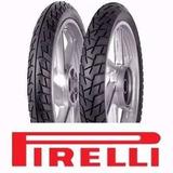 Juego Cubiertas Pirelli Courier 90 90 18 7 275 18 + Camaras