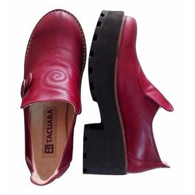 Zapato De Cuero Dama