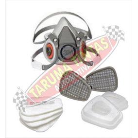 Respirador Máscara 3m Semi Facial 6200/6000 Completa