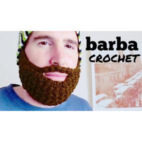 Gorro Tejido Con Barba/hecho A Mano/crochet Darick