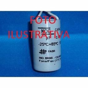 Capacitor 12uf/250v Para Motor De Portão Automático