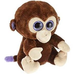 Pelúcia Macaco Coconut Grande Beanie Boo Dtc