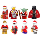 Set Star Wars Darth Vader Deadpool Joker Compatible Con Lego