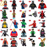 Lego Compativel Vingadores Super Herois Marvel Dc Batman
