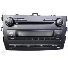 Som Original Toyota Corolla 08/14 Radio Cd Player