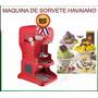 Maquina De Sorvete Havaiano E Raspa Raspa