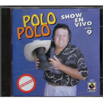 Polo Polo Show En Vivo Vol.9 Cd 1993 Primera Edicion