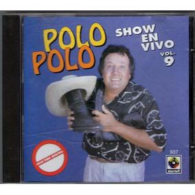 Polo Polo Show En Vivo Vol.9 Cd 1993 Primera Edicion