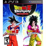 Dragon Ball Z Budokai Hd Collection - Playstation 3, Ps3