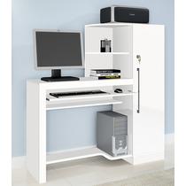 Escrivaninha Aro, Mesa Para Computador - Branca