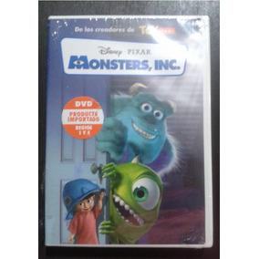 Nuevo Dvd Monster Inc Disney Español Pixar