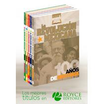 La Revolución Mexicana 100 Años De Historia 5 Vols + 1 Cd