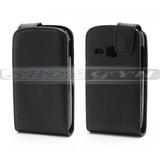 Capa Case Couro Luxo Galaxy Young Duos Tv S6310 S6312