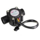 Sensor De Flujo De Agua Rosca 1/2 Pulgada Arduino