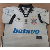 Camisa Do Corinthians Topper Eterno Xerife Gamarra 1999 - 19