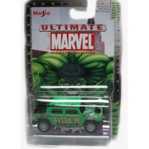 Marvel Ultimate De Fundición 164 Die Cast Car-hulk Hummer H