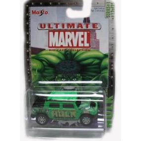 Marvel Ultimate De Fundición 164 Die Cast Car-hulk Hummer H