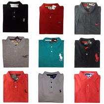 Camisa Camiseta Polo Holister Tommy Ralph Nike Rsv Lacoste