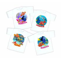 10 Playeras Buscando A Dory Nemo Personalizadas Envio Gratis