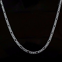 Corrente Masculina Prata 925 Com Garantia Eterna 60cm X 4mm