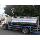 Tanques Rodoviario Inox Transporte De Leite E Pipa Agua
