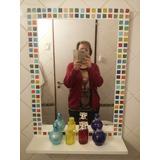 Espejo De Oferta Venecitas Y Estante 50 X 70 Listo P Colocar
