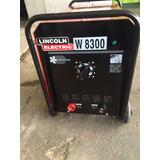 Máquina Industrial Para Soldar Lincoln W 8300 De 300 Amp