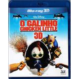 Blu Ray Filme - O Galinho Chicken Little - 3d
