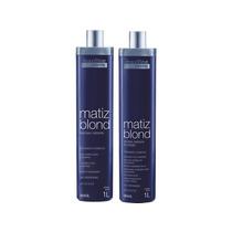 Kit Matiz Blond (shampoo + Emulsão Matizante) - Maxiline